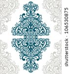 vector vintage baroque border... | Shutterstock .eps vector #106530875