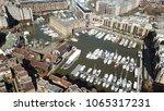 aerial drone bird's eye view of ... | Shutterstock . vector #1065317231