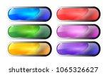 set of rounded rectangular...   Shutterstock .eps vector #1065326627