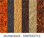 photo of colorful mix stripes... | Shutterstock . vector #1065332711