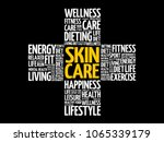 skin care word cloud collage ...   Shutterstock .eps vector #1065339179