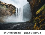 amazing view of popular tourist ... | Shutterstock . vector #1065348935