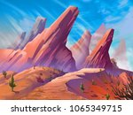 the desert with fantastic ...
