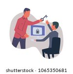 concept on the topic of... | Shutterstock .eps vector #1065350681