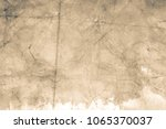 blank aged paper sheet as old... | Shutterstock . vector #1065370037