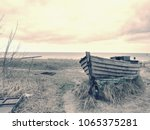 Wrecked Wooden Fisher Boat....