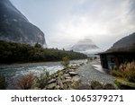 milford sound lodge   Shutterstock . vector #1065379271