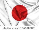 flag of japan | Shutterstock . vector #1065388001