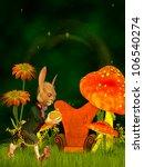 march hare  wonderland | Shutterstock . vector #106540274