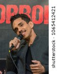 Small photo of DORTMUND, GERMANY - APRIL 8: Actor Ray Santiago (Ash vs Evil Dead, Dexter) at Weekend of Hell, a two day (April 7-8 2018) horror-themed fan convention.