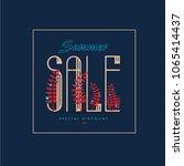 summer sale background  banners ...   Shutterstock .eps vector #1065414437
