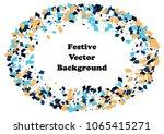 festive color rectangle... | Shutterstock .eps vector #1065415271