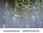 Texture Of Metal Sheet Wall An...