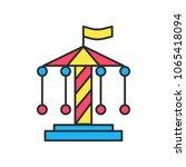 amusement vector thin line ... | Shutterstock .eps vector #1065418094