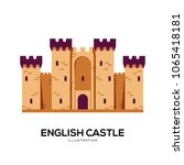 castle vector illustration... | Shutterstock .eps vector #1065418181