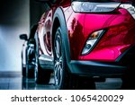 new luxury suv compact car... | Shutterstock . vector #1065420029