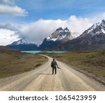torres del paine  patagonia ... | Shutterstock . vector #1065423959