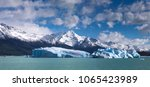 icebergs on lake argentino ... | Shutterstock . vector #1065423989