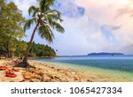 scenic north bay island sea... | Shutterstock . vector #1065427334