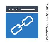 link url web page  | Shutterstock .eps vector #1065434099