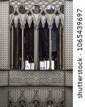elevador de santa justa in... | Shutterstock . vector #1065439697