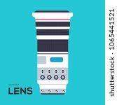 camera lens vector illustration ...   Shutterstock .eps vector #1065441521