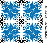 decorative seamless pattern ... | Shutterstock .eps vector #106544201