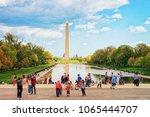 washington d.c.  usa   may 2 ... | Shutterstock . vector #1065444707