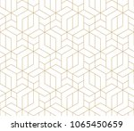 seamless linear pattern with... | Shutterstock .eps vector #1065450659