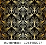 seamless pattern with elegant... | Shutterstock .eps vector #1065450737