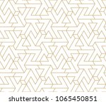 abstract geometric pattern with ... | Shutterstock .eps vector #1065450851