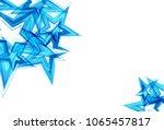 stars scatter blue technology... | Shutterstock .eps vector #1065457817