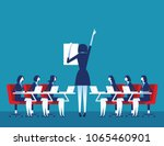 presentation. business... | Shutterstock .eps vector #1065460901