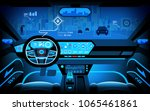 automobile cockpit  various... | Shutterstock . vector #1065461861