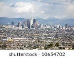 downtown los angeles skyline... | Shutterstock . vector #10654702