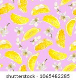 cute seamless pattern with... | Shutterstock .eps vector #1065482285