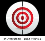 target icon sniper scope or...   Shutterstock .eps vector #1065490481