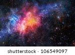 nebula gas cloud in deep outer... | Shutterstock . vector #106549097