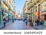 zaragoza  spain november 1 2014 ... | Shutterstock . vector #1065492425