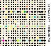 seamless dots pattern... | Shutterstock .eps vector #1065496169