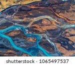 aerial view and top view river... | Shutterstock . vector #1065497537