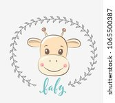 cute vector illustration with...   Shutterstock .eps vector #1065500387