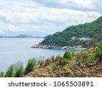beautiful scene in phu yen ... | Shutterstock . vector #1065503891
