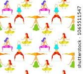 twerk dancer  girl  vector... | Shutterstock .eps vector #1065511547