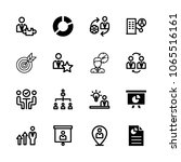 icons management with... | Shutterstock .eps vector #1065516161