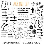 arrows  dividers and borders ... | Shutterstock . vector #1065517277