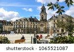 rennes  france  2 april 2018 ... | Shutterstock . vector #1065521087