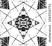 grunge old wood black cover...   Shutterstock .eps vector #1065526751