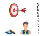 manipulation by hands cartoon... | Shutterstock .eps vector #1065527045