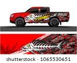 truck graphic vector.... | Shutterstock .eps vector #1065530651